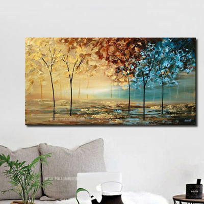 ENOPT311 fancy modern decor art landscape hand-painted oil painting on  canvas