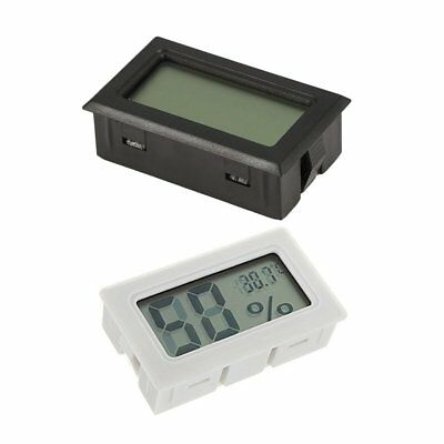 Digital LCD Hygrometer Humidity Meter Tester Reptile Temperature Thermometer LH