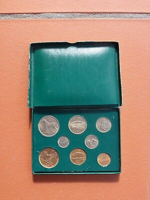 IRISH COINS 8 VINTAGE BOXED 1 OWNER 1950's COLLETABLE PC