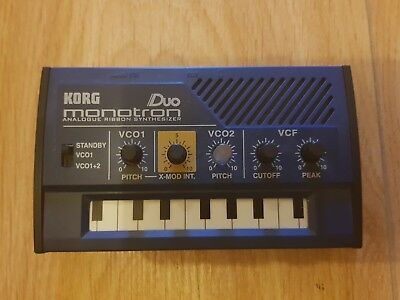 Korg Monotron Duo analog synth