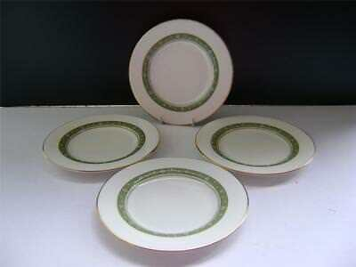 "Lovely Set of 4 Plates in""Rondelay"" Design by Royal Doulton."