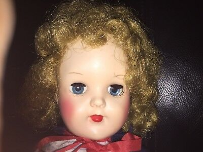 """Vintage Doll 1950s """"Pedigree made in England"""""""