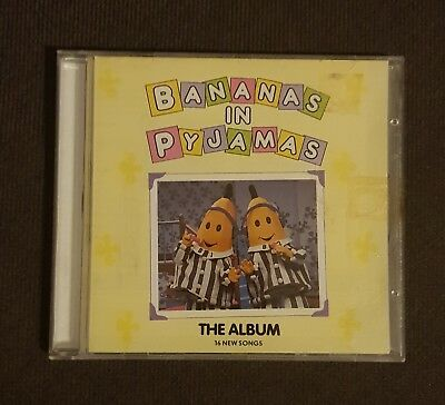 Bananas In Pyjamas The Album 16 New Songs CD Rare ABC Kids