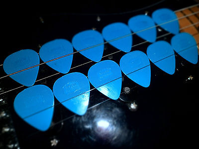 Herdim Picks Blue Old One 12x Used by U2 the Edge Worldwide Shipping Free