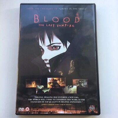 Blood The Last Vampire Manga Anime DVD