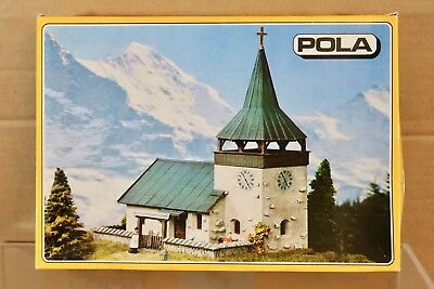 POLA 606 HO SCALE SMALL COUNTRY ALPINE CHURCH MODEL RAILWAY LAYOUT KIT nq