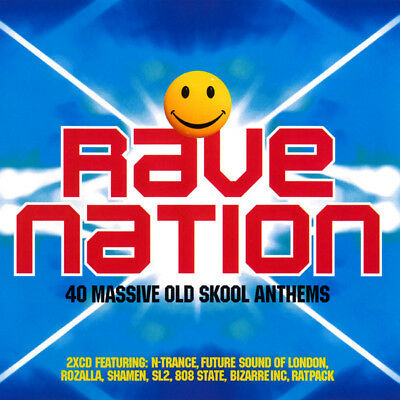 Rave Nation - 40 Massive Old Skool Anthems (2 X CD)