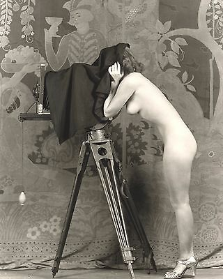 Vintage Nude Women Picture 8X10 New Fine Art Print Photo Antique Old Burlesque