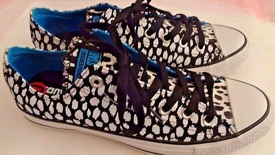 a0b694a20a9b86 New Women s Converse All Star Shoes Sneakers Black White Confetti Polka Dot  10