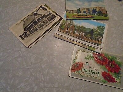 Vintage lot of postcards ~ 15 Random Postcards from the 1920s to '70s - Historic