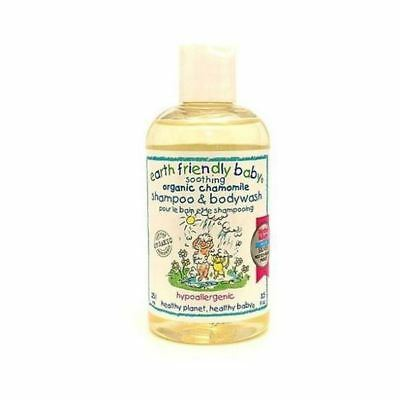 Earth Friendly Baby Soothing Chamomile Shampoo & Body Wash 250ml x 11 Pack