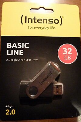 Intenso - High Speed USB-Stick - Basic Line - 32 GB - USB 2.0 - NEU & OVP