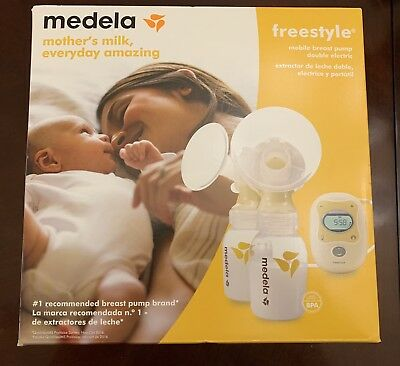 Medela Freestyle Double Electric Mobile Breast Pump New Seal 101034712