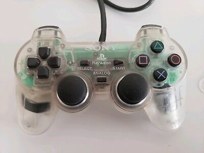 Official Sony PlayStation Controller - Clear PS1 - PS2