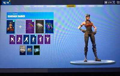 Insanely Stacked Fortnite Account With Renegade Raider, Black Knight $2000 Worth