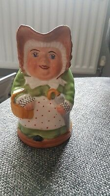 H J Wood Toby Jug Old Maid