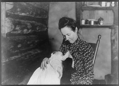 The baby,the bear nursing,Woman breastfeeding,Bear Cub,Baby,c1903,Infant