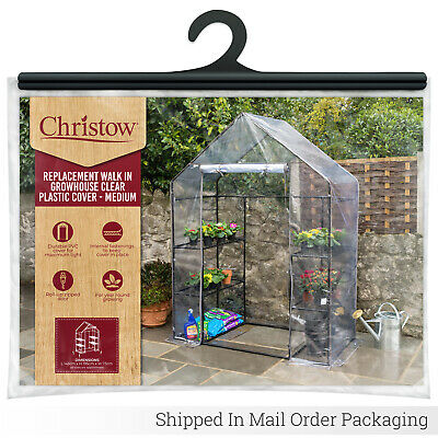 Walk In Greenhouse Replacement Cover PVC Grow House Protector – COVER ONLY
