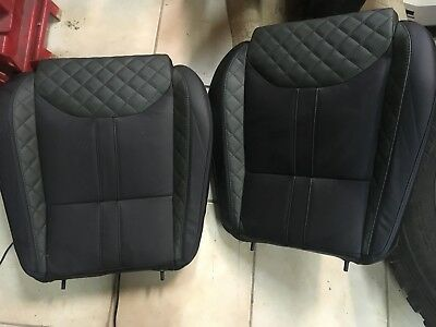 Land Rover Defender pair of heated bottom seats in leather