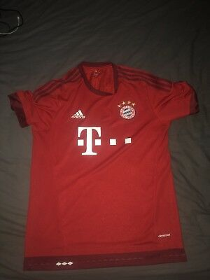 Bayern Munich HOME Football Shirt - 2015/16 - LARGE L Adult - Adidas -