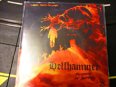 Hellhammer Triumph Of Death     Double  7 Inch Single     Celtic Frost