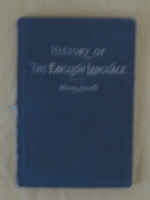 Old book History of the English Language by Meiklejohn, Vol.3 only, undated