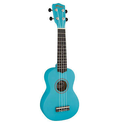 Tiger Soprano Ukulele for Beginners in Blue