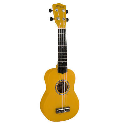 Tiger Soprano Ukulele for Beginners in Yellow