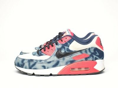 online store b9ae0 6771d Nike Air Max 90 Atmos Infrared Washed Denim QS - Taille US 9   EU 42.5