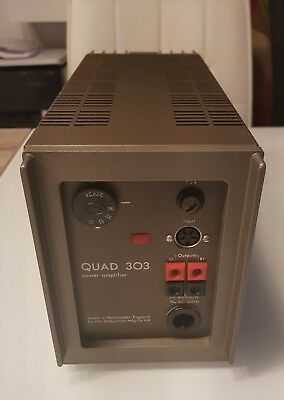 Quad 303 Power Amplifier World Shipping Available