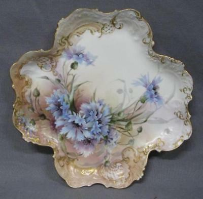 Beautiful Antique CH Field Haviland Limoges CFH / GDM Hand Painted Tray/Platter