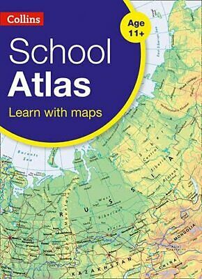 Collins School Atlas (Collins School Atlas) by Collins Maps Book The Cheap Fast