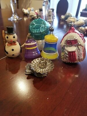 Lot of Vintage Christmas Ornaments Germany Japan