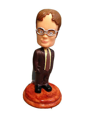 Dwight Schrute The Office NBC Bobblehead Steve Carell Blu-ray Dvd Tv Television