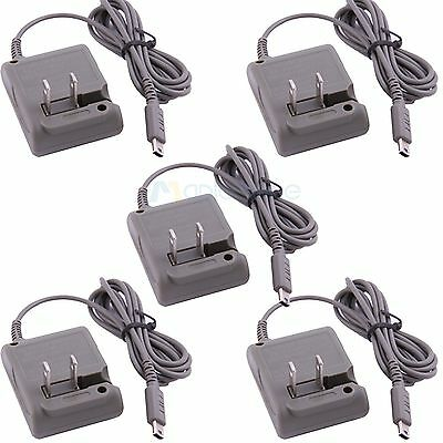 5x Home AC Adapter Travel Wall Charger For Nintendo DS Lite (NDSL / DSL) US plug