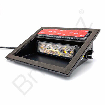 LED Flashing Dash Light 12v 24v Light bar Truck Recovery Strobe Amber beacons