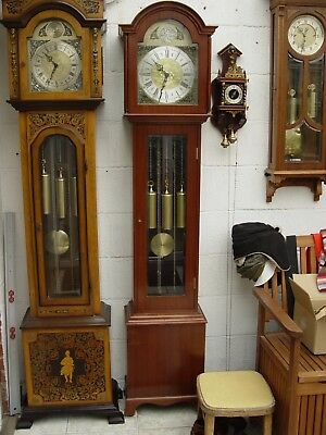 Grandfather Westminster Whittington triple chime clock
