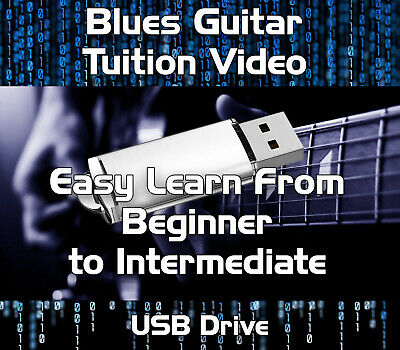 Blues Guitar Tuition - Beginners To Intermediate Video Lessons Download