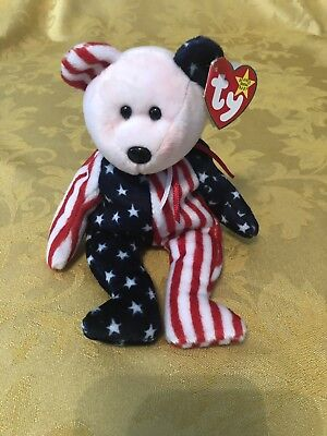 Spangle - Ty Beanie Babies with ERRORS