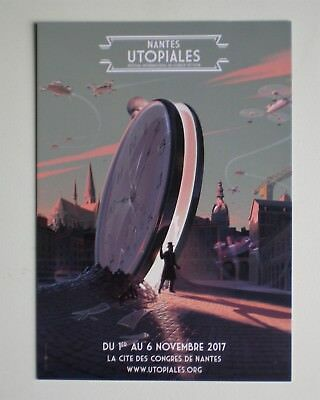 Laurent Durieux Carte Affiche Salon Utopiales Nantes 2017