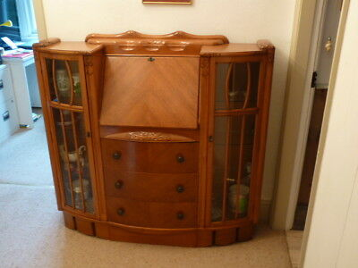 Antique writing desk/cabinet.