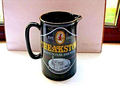 theakston tradional brewers water jug made by amberglade pottery lin VGC