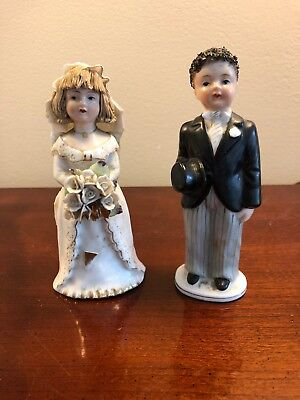 Lefton China 941 bride and groom 1950s