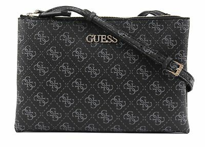 GUESS BORSA A Tracolla Maci Girlfriend Satchel White EUR