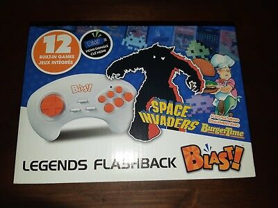 AtGames Legends Flashback Blast Space Invaders Burger Time Jungle Hunt HDMI New