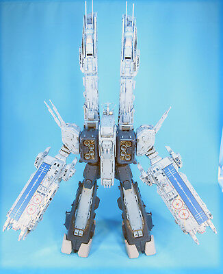 Yamato Macross Super Dimensional Fortress SDF-1- with Custom Weathering
