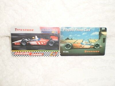 2 Firestone Prepaid Phone Cards (Expired)