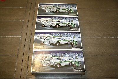 2004 Hess 40th Anniversary Truck Sport Utility Vehicle  NEW IN BOX LOT OF FOUR
