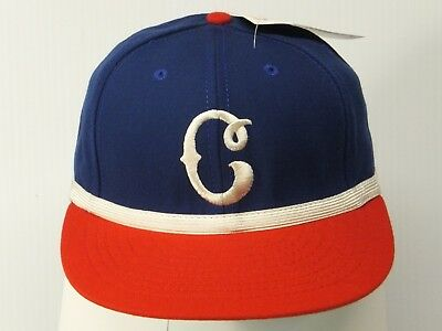 Size 6 7 8 Cleveland Buckeyes 1948 Negro League Museum Replica Baseball Hat 4af13d5332c