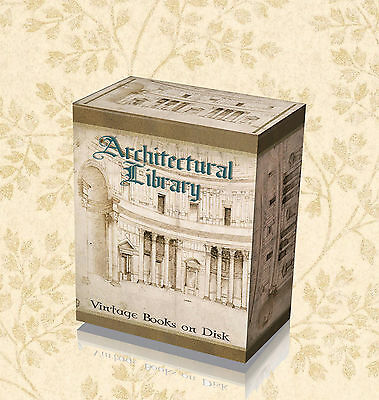 230 Rare Gothic Medieval Architecture Design Books on DVD - Cathedral Church  20